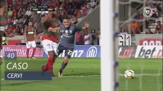 SL Benfica, Caso, F. Cervi aos 40'