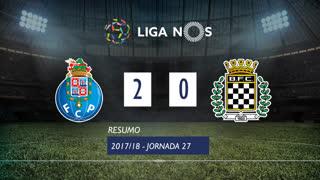 Liga NOS (27ªJ): Resumo FC Porto 2-0 Boavista FC