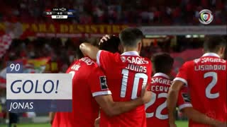 GOLO! SL Benfica, Jonas aos 90', SL Benfica 4-0 Belenenses