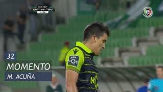 Sporting CP, Jogada, M. Acuña aos 32'