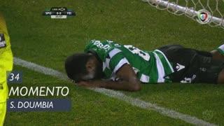 Sporting CP, Jogada, S. Doumbia aos 34'