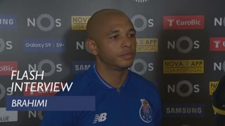 Liga (31ª): Flash interview Brahimi