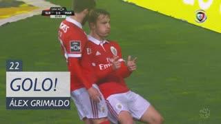 GOLO! SL Benfica, Álex Grimaldo aos 22', SL Benfica 2-0 Marítimo M.