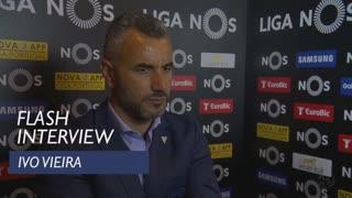 Liga (31ª): Flash interview Ivo Vieira