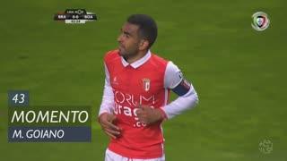 SC Braga, Jogada, Marcelo Goiano aos 43'