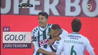 GOLO! Vitória FC, João Teixeira aos 64', Vitória FC 3-0 Os Belenenses