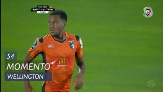 Portimonense, Jogada, Wellington aos 54'