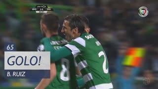 GOLO! Sporting CP, B. Ruiz aos 65', Sporting CP 2-0 FC P.Ferreira