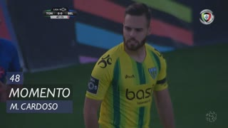 CD Tondela, Jogada, Miguel Cardoso aos 48'