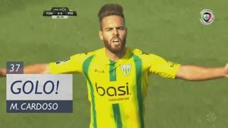 GOLO! CD Tondela, Miguel Cardoso aos 37', CD Tondela 1-0 FC P.Ferreira
