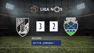 Liga NOS (1ªJ): Resumo Vitória SC 3-2 GD Chaves
