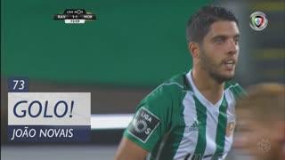 GOLO! Rio Ave FC, João Novais aos 73', Rio Ave FC 1-1 Moreirense FC