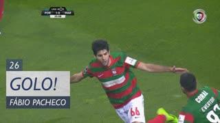 GOLO! Marítimo M., Fábio Pacheco aos 26', FC Porto 1-1 Marítimo M.