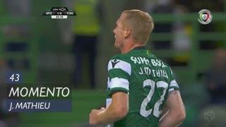 Sporting CP, Jogada, J. Mathieu aos 43'