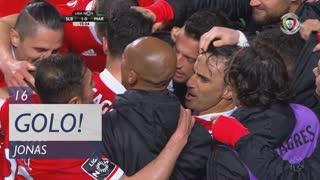 GOLO! SL Benfica, Jonas aos 16', SL Benfica 1-0 Marítimo M.