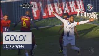 GOLO! CD Feirense, Luís Rocha aos 34', CD Feirense 1-1 GD Chaves