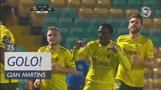 GOLO! FC P.Ferreira, Gian Martins aos 75', FC P.Ferreira 2-1 CD Feirense