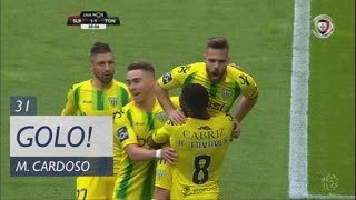 GOLO! CD Tondela, Miguel Cardoso aos 31', SL Benfica 1-1 CD Tondela