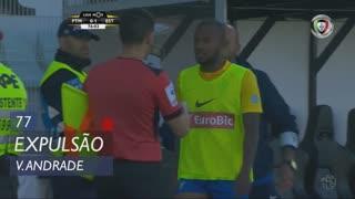 Estoril Praia, Expulsão, Victor Andrade aos 77'