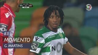 Sporting CP, Jogada, Gelson Martins aos 83'