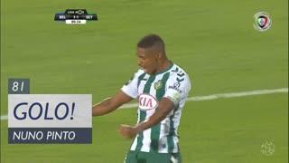 GOLO! Vitória FC, Nuno Pinto aos 81', Belenenses 1-1 Vitória FC