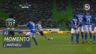 Sporting CP, Jogada, J. Mathieu aos 42'