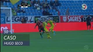 CD Feirense, Caso, Hugo Seco aos 50'