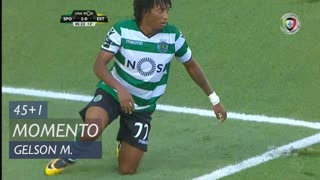 Sporting CP, Jogada, Gelson Martins aos 45'+1'