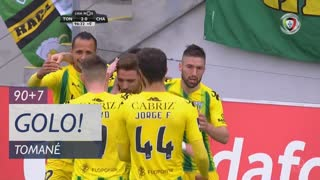 GOLO! CD Tondela, Tomané aos 90'+7', CD Tondela 2-0 GD Chaves