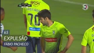 Marítimo M., Expulsão, Fábio Pacheco aos 65'