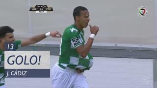 GOLO! Moreirense FC, J. Cádiz aos 13', Moreirense FC 1-1 Portimonense