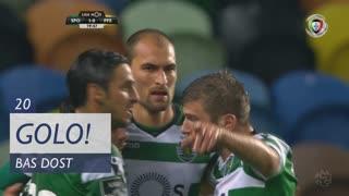 GOLO! Sporting CP, Bas Dost aos 20', Sporting CP 1-0 FC P.Ferreira