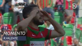 Marítimo M., Jogada, Ricardo Valente aos 74'