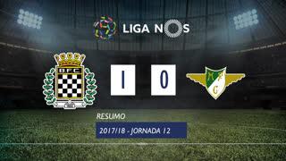 Liga NOS (12ªJ): Resumo Boavista FC 1-0 Moreirense FC