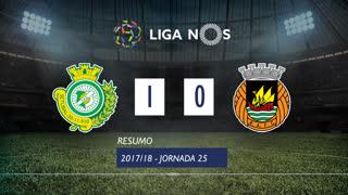Liga NOS (25ªJ): Resumo Vitória FC 1-0 Rio Ave FC