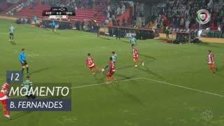 Sporting CP, Jogada, Bruno Fernandes aos 12'