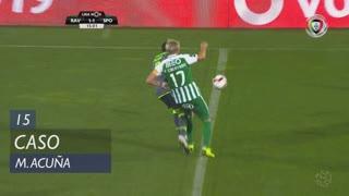 Sporting CP, Caso, M. Acuña aos 15'