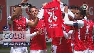 GOLO! SC Braga, Ricardo Horta aos 25', SC Braga 1-0 Boavista FC