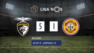 Liga NOS (25ªJ): Resumo Portimonense 5-1 CD Nacional