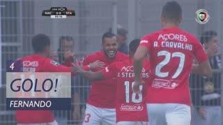 GOLO! Santa Clara, Fernando aos 4', CD Nacional 0-1 Santa Clara