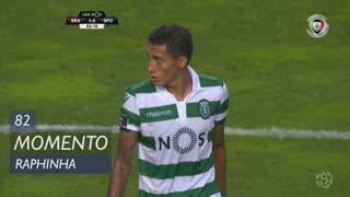 Sporting CP, Jogada, Raphinha aos 82'