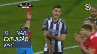 SL Benfica, Expulsão, Jonas aos 72'