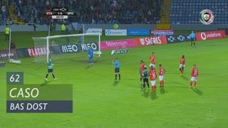Sporting CP, Caso, Bas Dost aos 62'