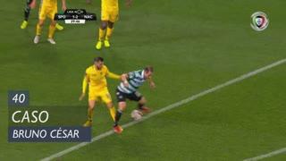 Sporting CP, Caso, Bruno César aos 40'