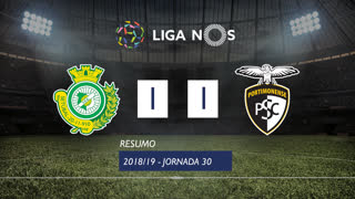 Liga NOS (30ªJ): Resumo Vitória FC 1-1 Portimonense
