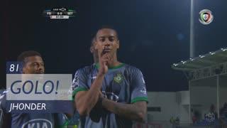 GOLO! Vitória FC, Jhonder aos 81', CD Feirense 0-1 Vitória FC