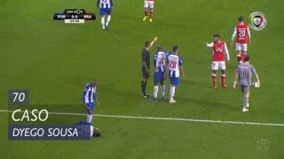 SC Braga, Caso, Dyego Sousa aos 70'