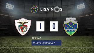 Liga NOS (7ªJ): Resumo Sta. Clara 1-0 GD Chaves