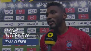 Liga (6ª): Flash interview Jean Cléber