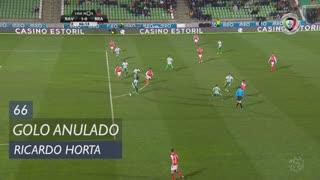 SC Braga, Golo Anulado, Ricardo Horta aos 66'